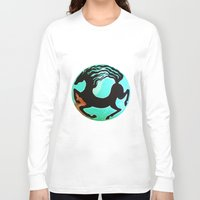 horse Long Sleeve T-shirts featuring Horse by Abundance