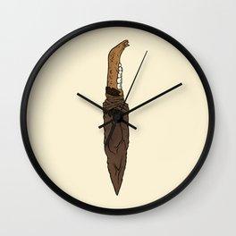 Takkar's Knife Wall Clock