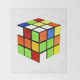 Rubik Throw Blanket
