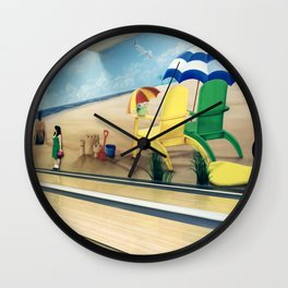 """""""Spare Me"""" Wall Clock"""