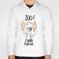 furry Hoodies featuring furry trash by Caramel Panda