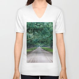 Tangled Trees Unisex V-Neck