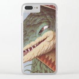 Croc Surprise Clear iPhone Case