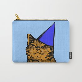 Party Cat (Blue Version) Carry-All Pouch
