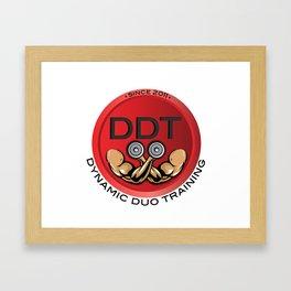 Men's DDT T's Framed Art Print