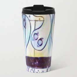 Ghosties on Trampolines Travel Mug