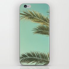 Autumn Palms II iPhone Skin