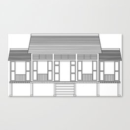 Rumah Kampung 2 Canvas Print