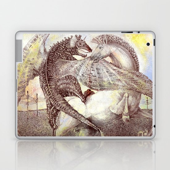Fight. Laptop & iPad Skin
