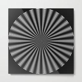 Stars and Circles Metal Print
