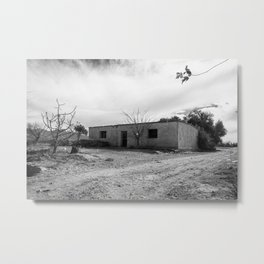 Adobe house #2 at Pocito, San Juan, Argentina Metal Print