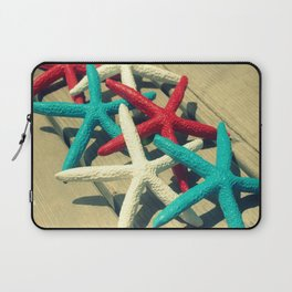 Patriotic Starfish Laptop Sleeve