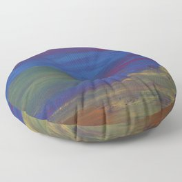 Abstract Uno Floor Pillow