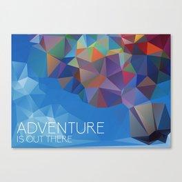 Up: Adventure  Canvas Print