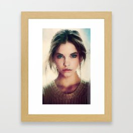 Soft Beauty Framed Art Print