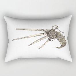 Scissorhands (Sepia-L) Rectangular Pillow