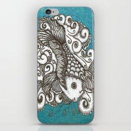 Sharpie Fish iPhone Skin