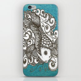Sharpie Fish iPhone Skin