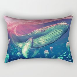 Life of Pi whale Rectangular Pillow
