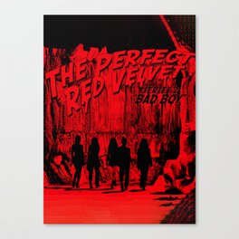 "The Perfect Red Velvet ""Bad Boy"" Canvas Print"