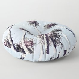 Tropical Palm Island - Wild Nature Floor Pillow