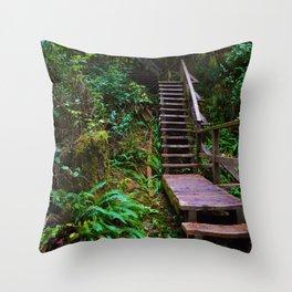 Staircase to heaven Throw Pillow