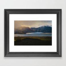 Spirit Lake Framed Art Print