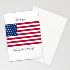 Fuck you Donald Trump Stationery Cards