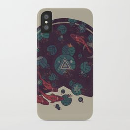 Amongst the Lilypads iPhone Case