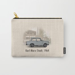 A Trabant in Karl-Marx-Stadt Carry-All Pouch