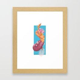 PinkMer Framed Art Print