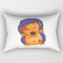 Cuddly Hedgehog Rectangular Pillow