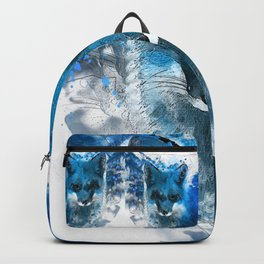 Arctic Fox #fox Backpack