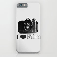 I ♥ Film (Grey/Black) iPhone 6s Slim Case