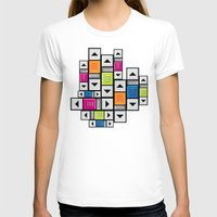 popart T-shirts featuring ScrollBar PopArt by Roberlan Borges