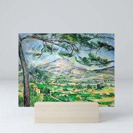 Paul Cézanne, Mont Sainte-Victoire, Courtald Mini Art Print