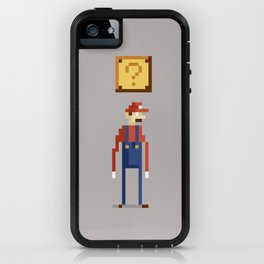 Pixel Plumber iPhone Case
