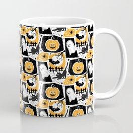 Beware of the Cat -Pattern Coffee Mug