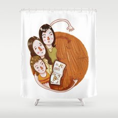 Charmed (alphabet series TV) Shower Curtain