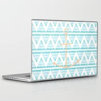 anchors Laptop & iPad Skins featuring anchors by taylor st. claire