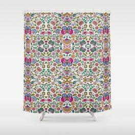Butterfly Mandala Shower Curtain