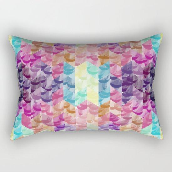 Crystal geometric Background Rectangular Pillow