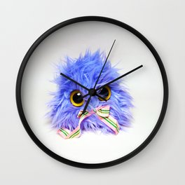 Twitchy Patio Guy 2.0 Wall Clock