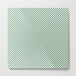 Ivy Polka Dots Metal Print