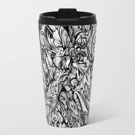 Conquer (Black & White Version)  Travel Mug