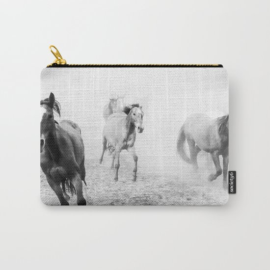 Running with the horses Carry-All Pouch