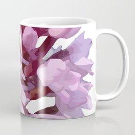 Pink Orchid Wildflower Coffee Mug