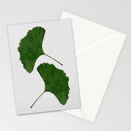 Ginkgo Leaf II Stationery Cards