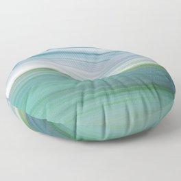OCEAN ABSTRACT Floor Pillow