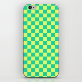 Checkered Pattern V iPhone Skin